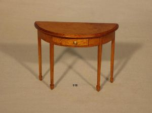 118. Half Moon Table